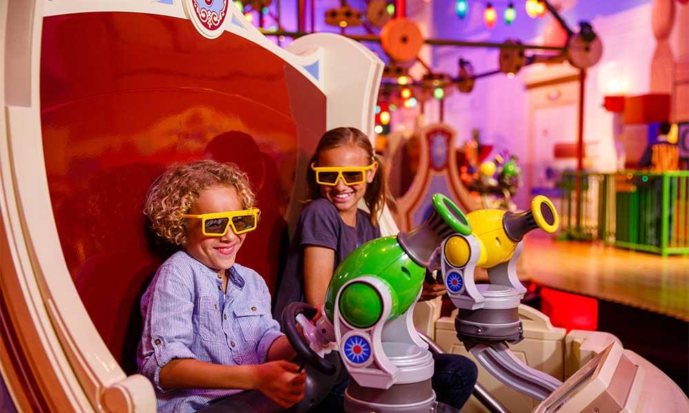Toy Story Mania. ©Disney ©Disney/Pixar