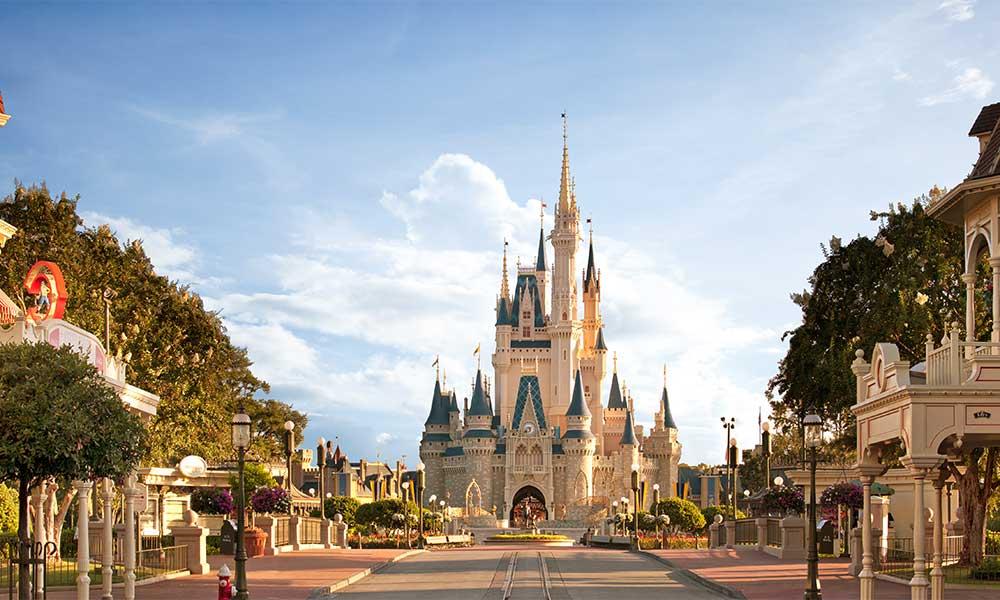 Castle View At Disney's Magic Kingdom©