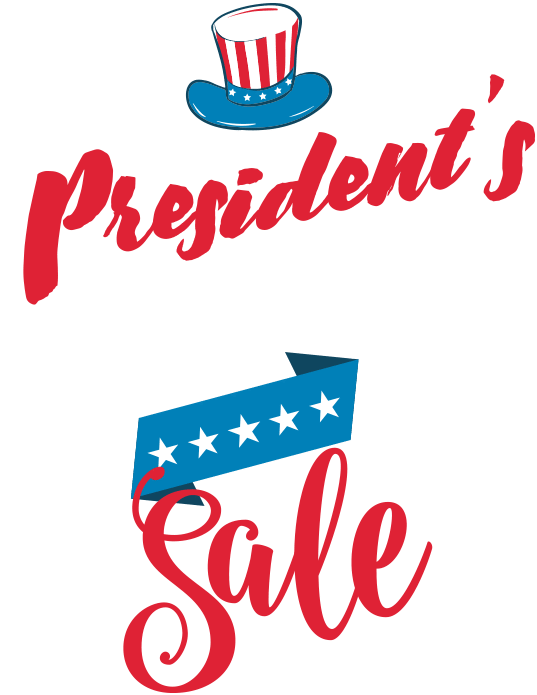 Presidents day weekend deals