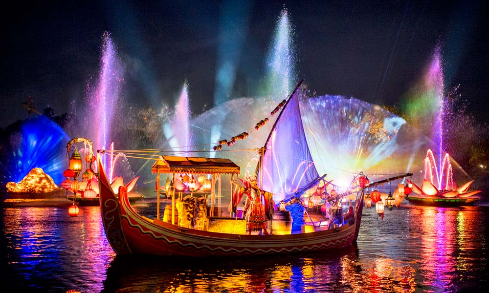 NEW – Rivers Of Light Nighttime Spectacular At Disney's Animal Kingdom