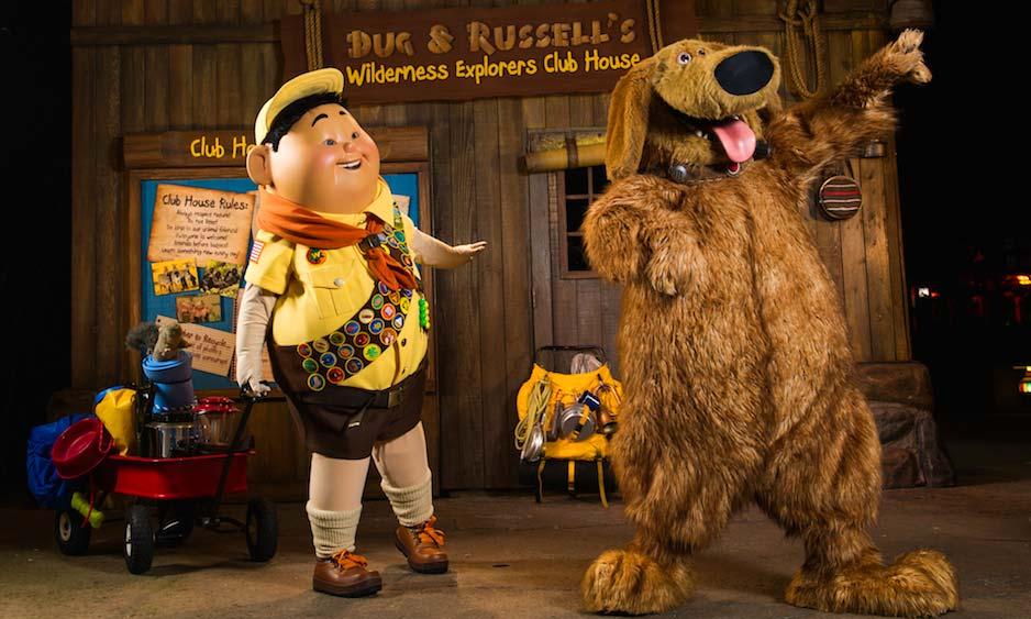NEW! Dug & Russels New Bird Show At Disney's Animal Kingdom