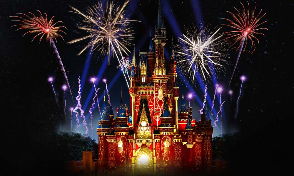 Disney's Magic Kingdom© – Happily Ever After nighttime spectacular