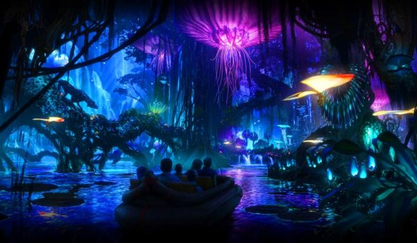 Pandora Avatar Na'vi River Journey Ride At Disney's Animal Kingdom