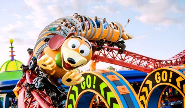 Toy Story Land Slinky Ride ©Disney ©Disney/Pixar ©POOF-Slinky, LLC