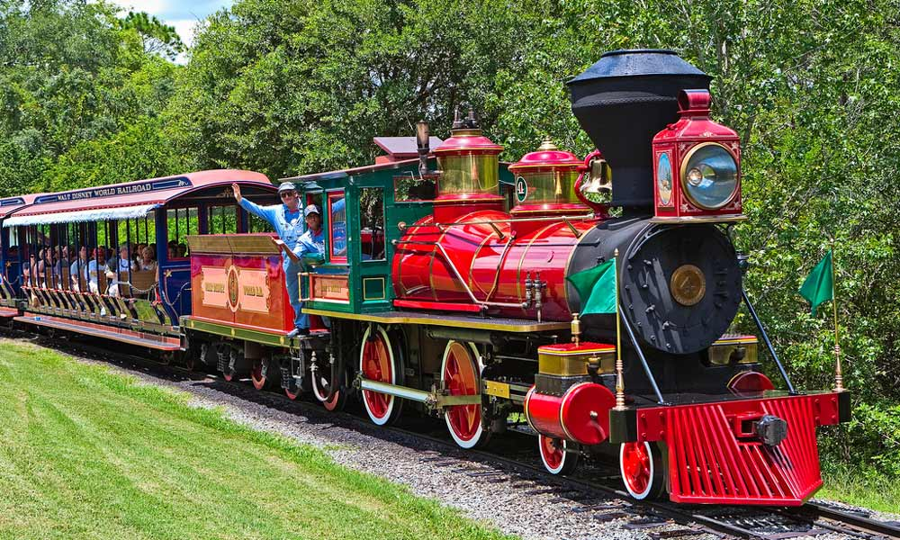 disney magic kingdom walt train railroad locomotive park parks crown metal orlando resort ticket roy theme wiki central belle roger