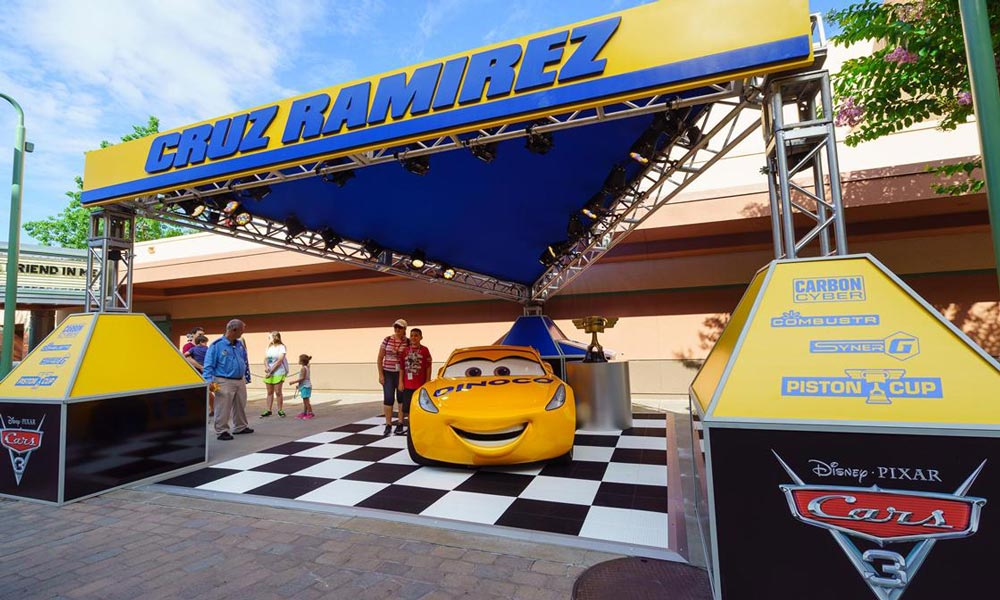 NEW - Lightning McQueen Racing Academy At Disney's Hollywood Studios® ©Disney ©Disney/Pixar