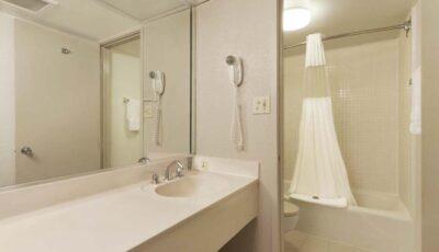 Hotel Ramada Gateway: Wash Room With Toilet And Tub